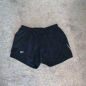 black under armor shorts